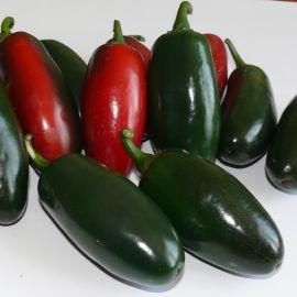 1851 F1 семена перца горького тип Халапеньо раннего 60 дн. конич. 70 гр. 10х4 см 5-7 мм зел./красн. (Lark Seed)