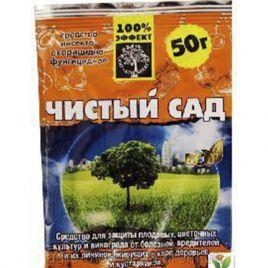 препарат чистый сад