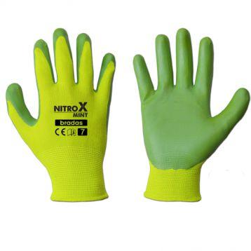 перчатки защитные nitrox mint нитрил
