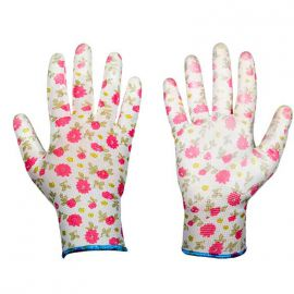 Перчатки защитные Pure Pretty полиуретан (Bradas)
