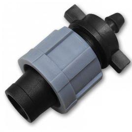 Коннектор лента / соединение для трубки 6мм (Bradas)