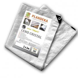 Тент армированный LENO CRISTAL 100 гр/м2 прозрачный (Bradas)
