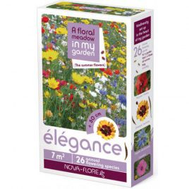 Элеганс летние цветы на 7 кв. м семена цветочной смеси (Nova Flore)