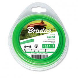 Жилка (леска) для триммера TRIMMER круглый переплет 15м (Bradas)