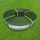 Бордюр для клумбы ровный зеленый 18м х 12,5см (Bradas)