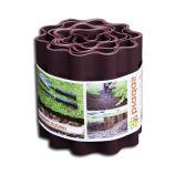 Бордюр для клумбы волнистый коричневый (Bradas)