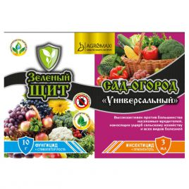 Зеленый щит Сад-Огород универсальный 3мл + 10мл/г (Agromaxi)