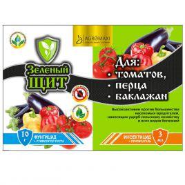 Зеленый щит для томатов, перца и баклажан 3мл + 10мл/г (Agromaxi)