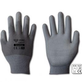 Перчатки защитные Pure Gray полиуретан (Bradas)