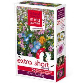 Экстра шорт (сверхкороткий) гномики на 30 кв. м семена цветочной смеси (Nova Flore)
