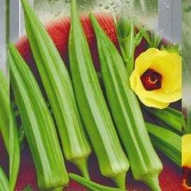 Бамия сопилка семена среднеспелая 4-6 см зел. 115-120 см (Seedera)