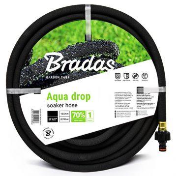 Шланг сочащийся для полива AQUA-DROP 1/2 дюйм. (Bradas)