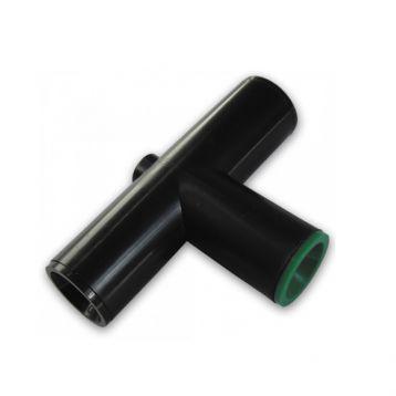 Коннектор-тройник QUICK для трубки 19/16/19 мм (Bradas)