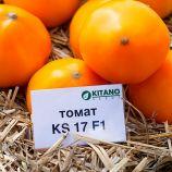 КС 17 (KS 17) F1 семена томата дет. среднепозднего 115-125 дн. окр. желтого 220-250г (Kitano Seeds)