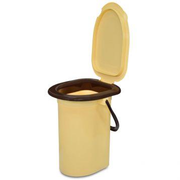 Відро-туалет 17 л з кришкою (арт. 66-098) (Україна)