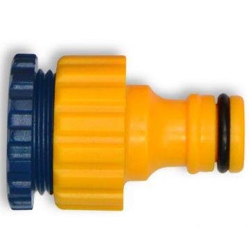 Адаптер для шланга універсальний внутрішнє різьблення 1/2 - 3/4 дюйм. (Арт. 72-115) (Verano)