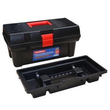 """Ящик для інструменту пластиковий 12"""", 312х163х130 мм (арт. 52-500) (Technics)"""