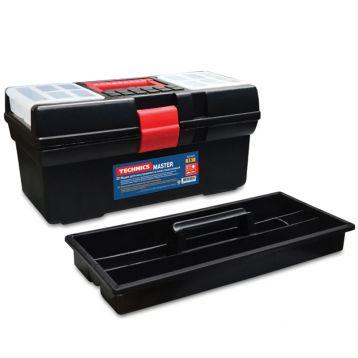 """Ящик для інструменту """"Master"""" пластиковий 12"""", 310х160х130 мм (арт. 52-520) (Technics)"""