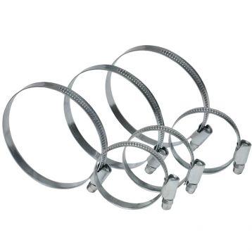Хомут стяжний оцинкована сталь 70-90 мм (арт. 23-310) (Technics)