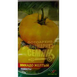 Микадо желтый семена томата индет. среднего 115-120 дн. окр.-припл. 200-300 гр. желт. (Элитный ряд)