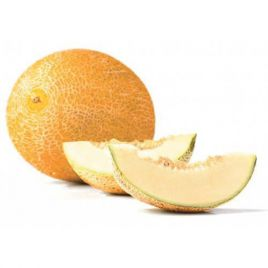 Голди F1 семена дыни тип Ананас средней 70-80 дн. 3-3,5 кг овал. оран./крем. (Tezier/Clause)