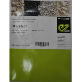 Дерия F1 семена огурца партенокарп. среднего 50 дн. 12 см (Enza Zaden)