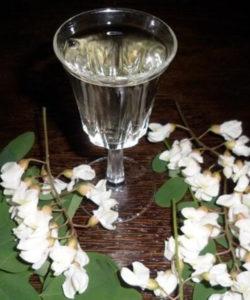 вино из акации съедобные цветы